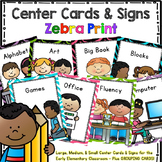 Center Signs and Cards  Programmable 2 in 1 set (Colorful