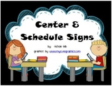 Center and Room Signs by Nichole Leib