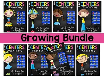 Centers Made Easy GROWING BUNDLE