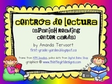 Centros de Lectura {Guided Reading Center Cards in Spanish}