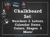 Chalkboard Classroom Combo Pack {white}