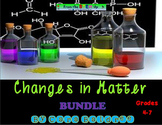 Changes in Matter Labs & Word Wall Bundle (Physical and Ch