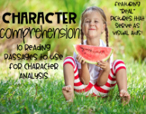 Character Comprehension-Passages for Teaching Character Traits