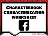 Characterbook Theatre Arts/Drama Characterization Worksheet