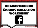 Characterbook Theatre Arts/Drama Characterization Worksheet