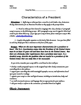 Example of Single Spaced Essay