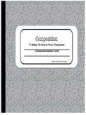 Characterization materials to accompany any novel