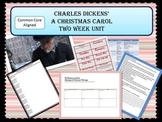 """Charles Dickens """"A Christmas Carol"""" Complete two week unit"""
