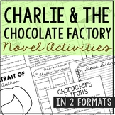 Charlie and the Chocolate Factory Interactive Notebook