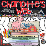 Charlotte's Web: Interactive Layered Flip Book and Craftivity