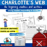 Charlotte's Web for Primary Readers - Grades K-1- Homeschoolers