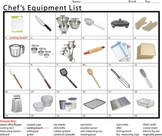 Chef's Equipment List (One)