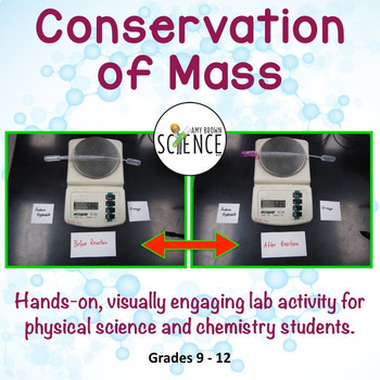 Chemistry Lab:  Conservation Of Mass