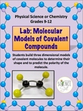 Chemistry Lab: Molecular Models of Covalent Compounds (Pol
