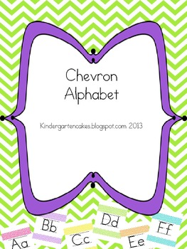 Chevron Alphabet