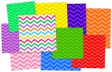 Chevron Background Paper Clip Art - Commercial & Personal Use
