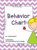 Chevron Behavior Posters