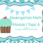 Eureka / EngageNY Kindergarten Math Module 1 Topic A lesso