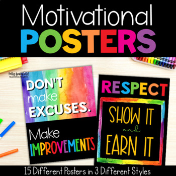 Chevron Motivational Posters