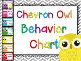 Chevron Owl Behavior Chart