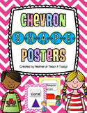 Chevron Shape Posters