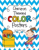 Chevron Themed Color Posters