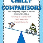 Chilly Comparisons Kindergarten Measurement Weight Heavier