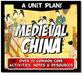 China Dynasties Unit Bundle Sui, Tang, Song, Yuan (Mongols