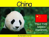 China Power Point in pdf ~ Common Core aligned ~ ELA included