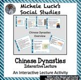 Chinese Dynasties Shang thru Han w/Confucius and Silk Road