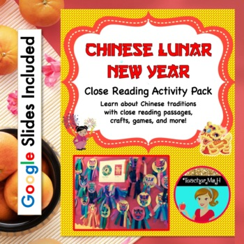 Chinese New Year 2015 - Complete No Prep Activity Pack