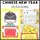 Chinese New Year Activities - 5 Information Slides and 5 A