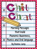 Chit Chat Morning Messages Set 1 {aligned with Common Core