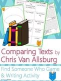 Chris Van Allsburg Author Study {Comparison & Contrast Wri