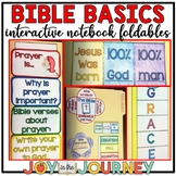 Christian Bible Basics Interactive Notebook Foldables