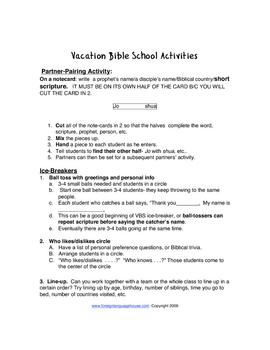 Christian Education Games & Activities for All Ages