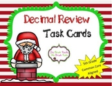Christmas 5th Grade Decimal Review