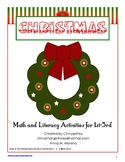 Christmas Activities K-3 Math & Reading Printables & Worksheets