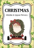 Christmas Activities Middle and Upper Primary