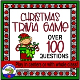 Christmas Activity - Christmas Trivia Game