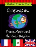 Christmas Around The World Set 1 - United Kingdom, France,
