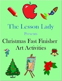 Christmas Around the World Art Activities for Fast & Early