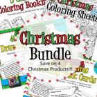 Christmas Art and Writing Bundle- 80 Drawing/Writing Task
