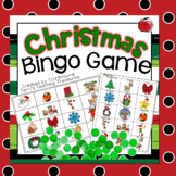 Christmas Bingo Game