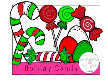 Christmas Candy Clip Art