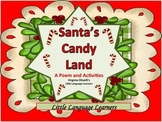 Christmas Candy Land -Poem and Activities