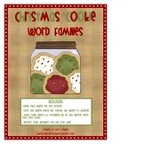 Christmas Cookie Long Vowel Word Families
