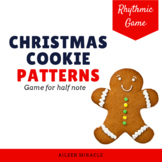 Christmas Cookie Patterns {Half Note}