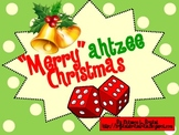 "Christmas Dice Game (""Merry""ahtzee Christmas)"