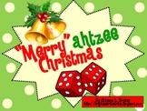 "Christmas Dice Game (""Merry""ahtzee Christmas)"
